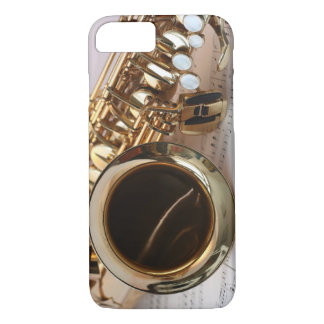 Alto Saxophone Music iPhone 7 Case