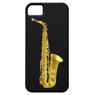 Alto Saxophone Sax Brass Music Instrument iPhone 5 Case