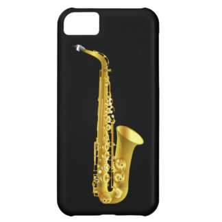 Alto Saxophone Sax Brass Music Instrument iPhone 5C Case