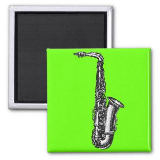 Alto Saxophone Square Magnet