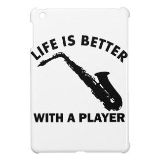 Alto Saxophone Vector Designs iPad Mini Cases