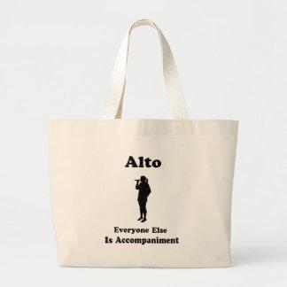 Alto Singer Gift Large Tote Bag
