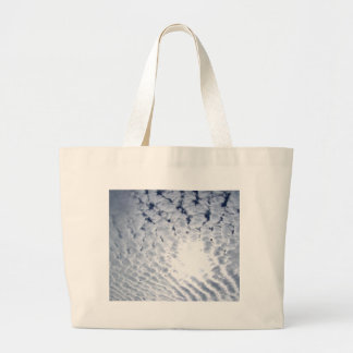 Altocumulus Clouds and Sun Canvas Bags