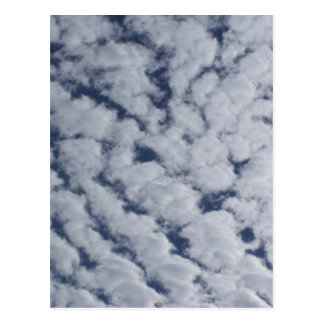 Altocumulus Clouds Postcard