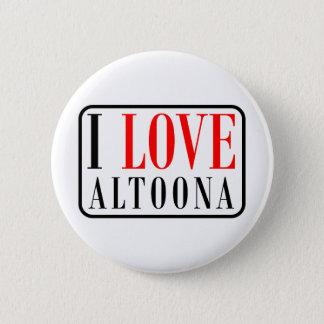 Altoona, Alabama City Design 6 Cm Round Badge