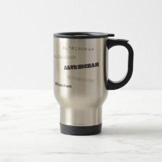 Altrincham Fonts Travel Mug
