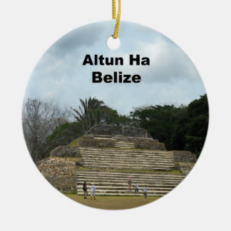 Altun Ha, Belize Christmas Ornament