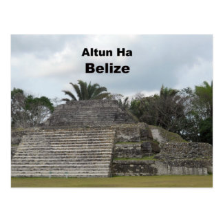 Altun Ha, Belize Postcard