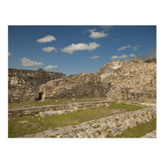 Altun Ha is a Mayan site that dates back to 200 5 Postcard