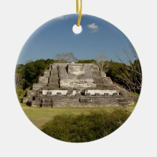 Altun Ha is a Mayan site that dates back to 200 Christmas Ornament