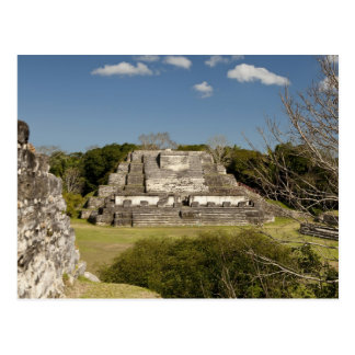 Altun Ha is a Mayan site that dates back to 200 Postcard