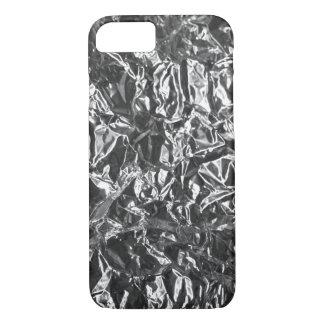 Aluminium foil texture iPhone 7 case