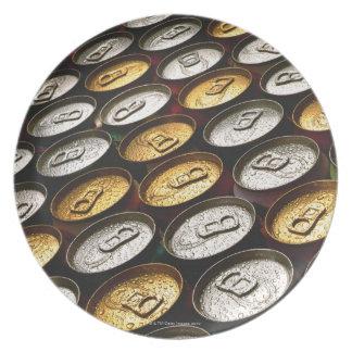 Aluminum cans plate