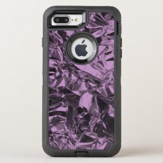 Aluminum Foil Design in Lavender OtterBox Defender iPhone 7 Plus Case