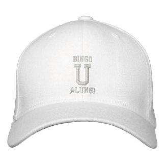 ALUMNI BINGO UNIVERSITY flexfit wool cap Embroidered Hats