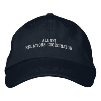 Alumni Relations Coordinator Embroidered Hats
