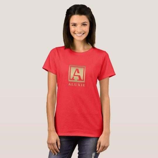 ALUXIE Women's Basic T-Shirt