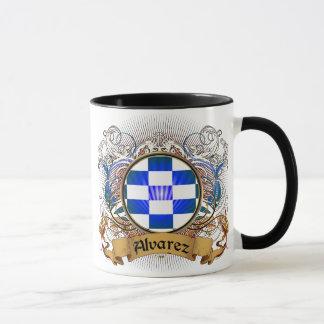 Alvarez Family Crest Mug