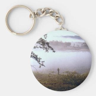 Alveland 17a basic round button key ring