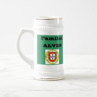 Alves* Family (Portugal) Beer Stein