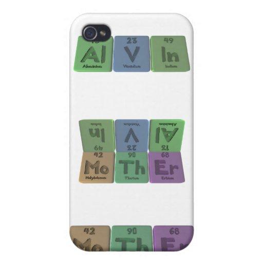 Alvin as Aluminium Vanadium Indium Cover For iPhone 4