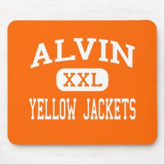 Alvin - Yellow Jackets - High School - Alvin Texas Mouse Pad