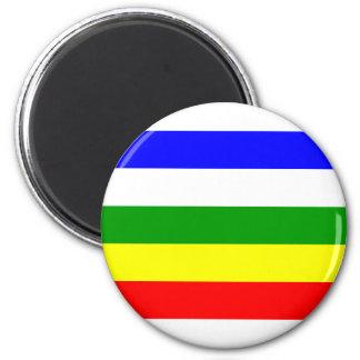 Alwar, India 6 Cm Round Magnet