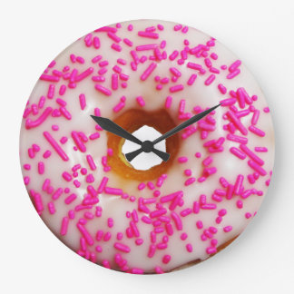 Always a good time for donut wallclock
