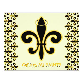 Always a SAINT 11 Cm X 14 Cm Invitation Card