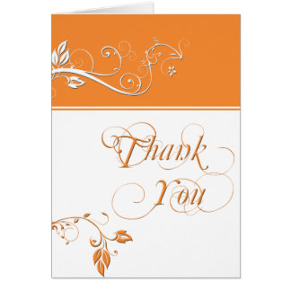 Always and Forever Orange Greeting Card