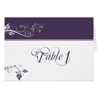 Always and Forever Violet Greeting Card