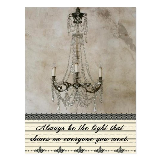 Always be the Light Postcard