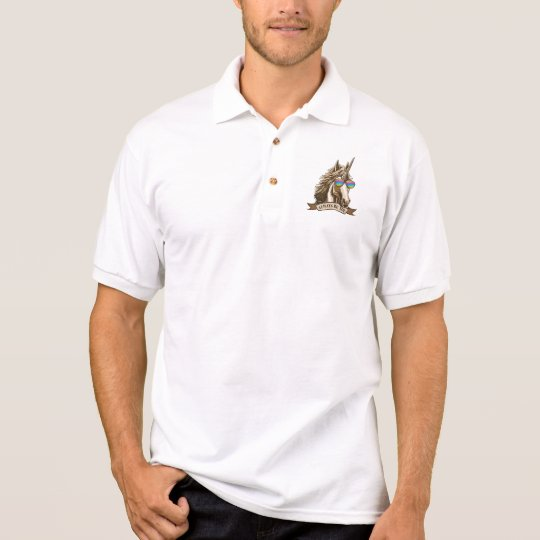 Always be you polo shirt