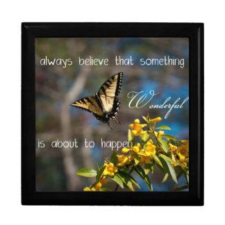 """""""Always Believe"""" Butterfly Gift Box"""