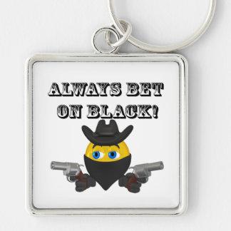 Always Bet On Black Keychains
