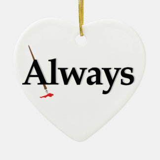 Always Castle Christmas Ornament