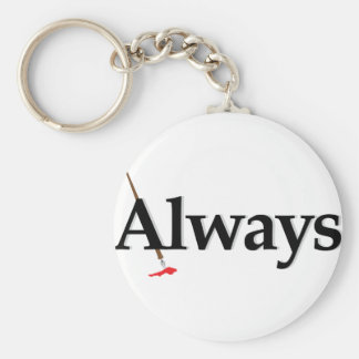 Always Castle Key Ring