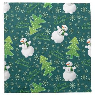 Always Christmas Fun Pattern Napkin