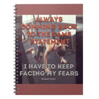 Always comming back to the same statement notebook