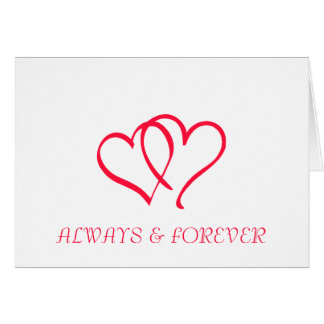 ALWAYS FOREVER GREETING CARDS
