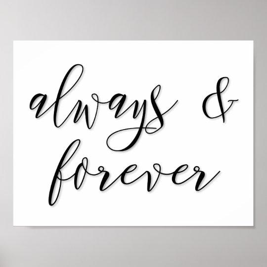 always & forever poster