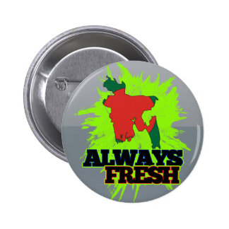 Always Fresh Bangladesh 6 Cm Round Badge
