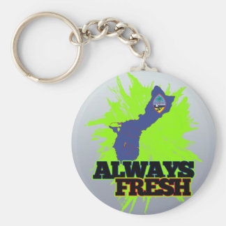 Always Fresh Guam Key Ring