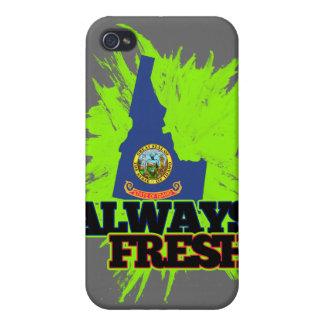 Always Fresh Idaho Cases For iPhone 4