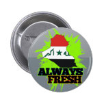 Always Fresh Iraq Buttons