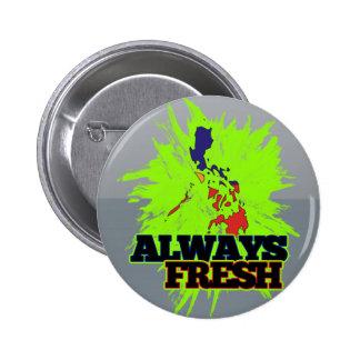 Always Fresh Philippines 6 Cm Round Badge