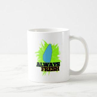Always Fresh Saint Lucia Basic White Mug
