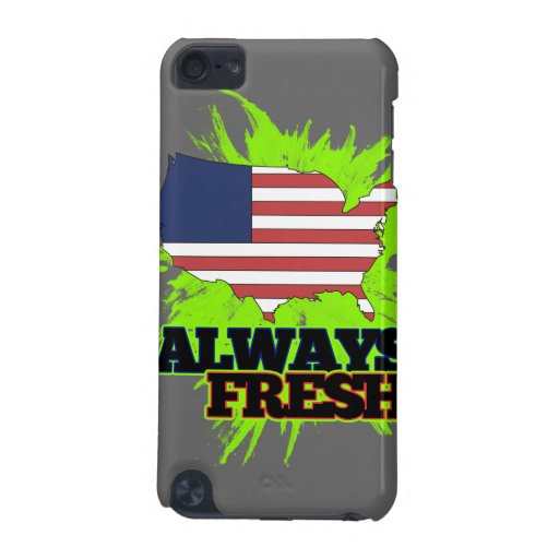 Always Fresh United States Of America iPod Touch 5G Cases