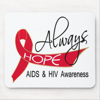 Always Hope AIDS Mouse Pad