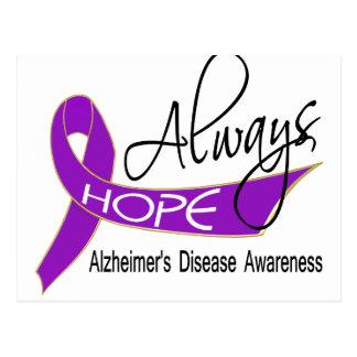 Always Hope Alzheimer's Disease Postcard